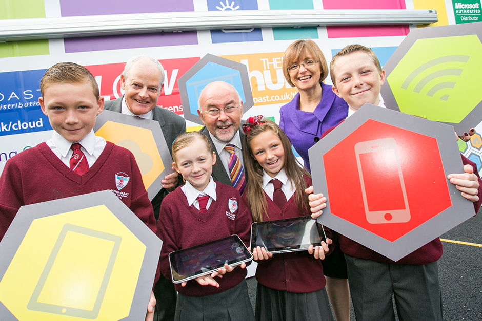 Digital Schools of Distinction' launched by Minister for Education and Skills Ruairí Quinn