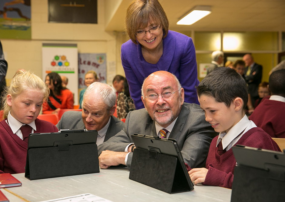 Minister Ruairí Quinn launches Digital Schools of Distinction