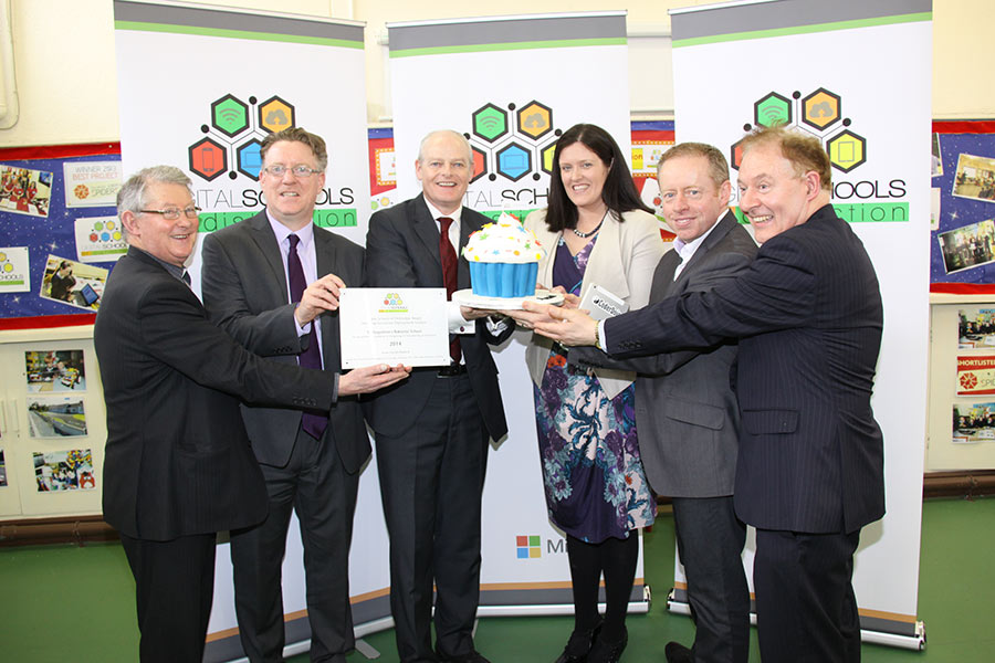 St Augustine's NS, Clontuskert becomes one of the first schools in Ireland to be named a 'Digital School of Distinction'